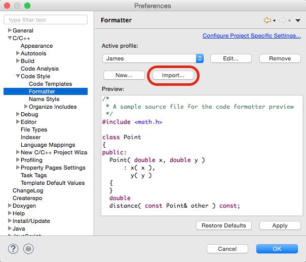 c++formatting